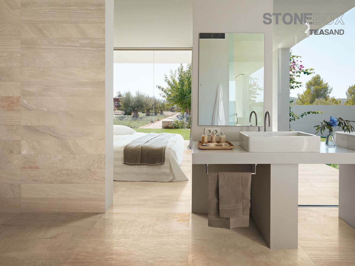 A mix of elegant and exclusive stones that eloquently interpret the style and needs of contemporary living. 