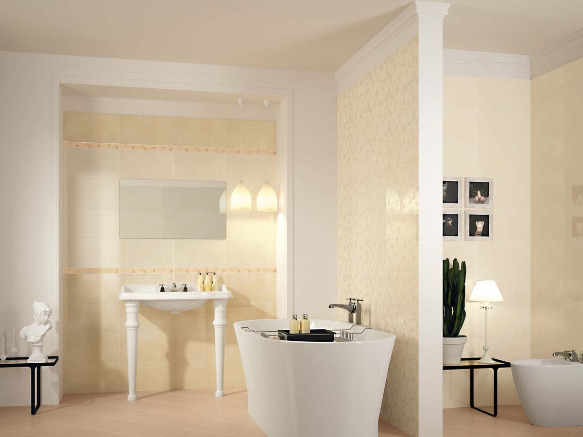 By playing with Daisy, cristal, Royal and Candy, we discover a world in which harmony translates into ceramic tiles.