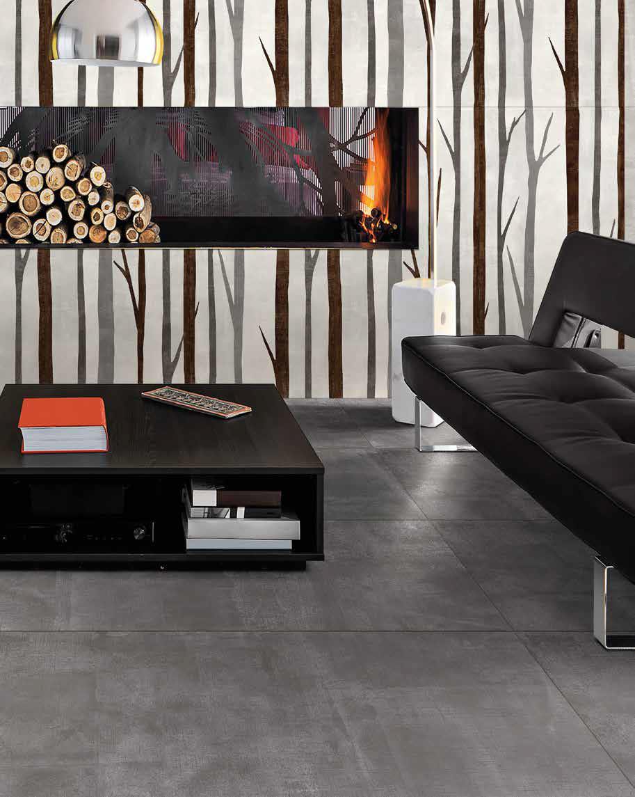 Fabric ceramic is a new way of enjoying your home, in an atmosphere that recalls the elements of nature and comfort.